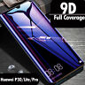 for Huawei P30 P20 Pro Lite Mate20 9D Tempered Glass Screen Protector Full Cover