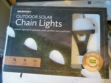 Solar Power * Outdoor Chain Led lights * Free Shipping