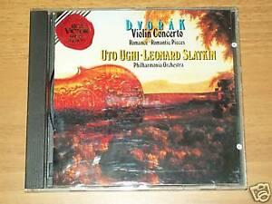 CD DVORAK-VIOLIN CONCERTO-UTO UGHI-SLATKIN-RCA-1991