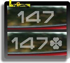 4x Adesivi Stickers ALFA ROMEO 147 MIRRORS SPECCHIETTI Finestrini Windows