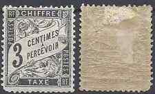 ---- FRANCE TIMBRE TAXE N°12 - NEUF AVEC GOMME D'ORIGINE - COTE 90€ ----