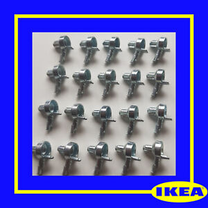 131372 X 20 IKEA Billy Bookcase Shelf Pins/ Support/ Fixings - 100% Genuine
