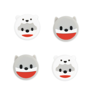For Nintendo Switch/Lite Accessory Joystick Thumb Grips Cap Cover Penguin Dog 4x