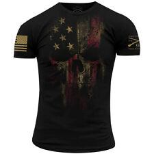 Американский стиль тяжелую жнец 2.0 футболка-черный