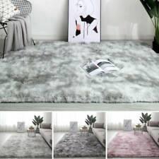 Washable Anti-Skid Shaggy Big Rug Faux Fur Carpet Fluffy Room Lounge Floor Matsn