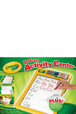 NEW Crayola Dry Erase Activity Centre