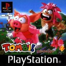 Super RARE Tombi! Tomba! PS1 Playstation PAL retro sony GERMAN deutsch game used