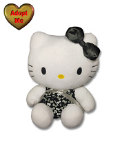 Sanrio Sureshot Redemption Black White Bows Hello Kitty Cat Stuffed Plush Animal