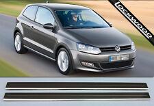 VW POLO Mk5 2 porte (2009 rilasciato per presentare) Davanzale Protettori Calcio Piastre/