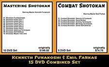 Shotokan Karate with Emil Farkas & Kenneth Funakoshi Combined (15 DVD Set)