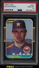1987 Leaf Nolan Ryan #257 PSA 10 GEM MINT
