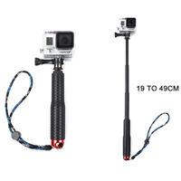 Selfie Stick Adjustable Telescoping Monopod Pole for Go pro-Hero 5-Hero 4/3+/3/2