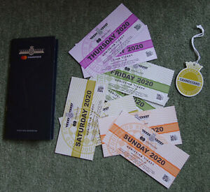 Goodwood Festival Of Speed 2020 - 8 Tickets (Memorabilia)