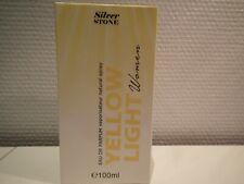 Eau de Parfum YELLOW LIGHT Women Silver Stone, 100 ml, Nouveau