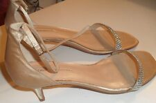 ladies stunning FILIPPO RAPHAEL shoes SZ 40 gold & diamante NEW RRP $385