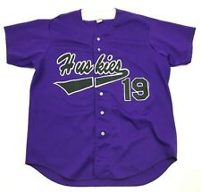 Vintage Wilson Huskies Baseball Jersey Taille XL Violet Couture USA