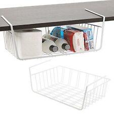 Panorama Under Shelf Storage Basket Rack Kitchen Wire Mesh Cabinet Organiser