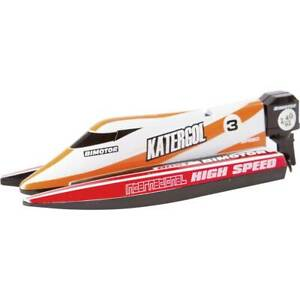 Invento Mini Race Boat Red RC Einsteiger Motorboot RtR 140 mm