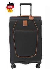 Stratic Reisekoffer & -taschen aus Leder mit 4 Rollen