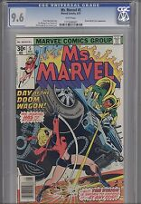 Ms. Marvel #5 CGC 9.6 1977 Marvel Comic: Vision and M.O.D.O.K.: Price Drop!