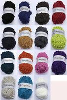 Papillon Scarf pom pom Knitting Yarn Wool - buy one get one free