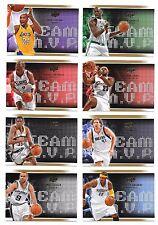 2008-09 Upper Deck Team MVPS - Complete Set - 30 Cards