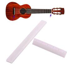 Gitarrensattel Nut SET Klassik E-Gitarre Buffalo Knochen Saddle Brücke 6 String