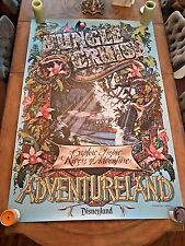 JUNGLE CRUISE Disneyland Disney World FULL SIZE attraction poster 36x54 prop d23