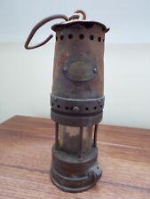 PATTERSON GATESHEAD MINING MINER'S LAMP