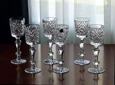 FOR GIFT Shot glasses 75 mL High quality Lead CRYSTAL, Set of 6, Russia