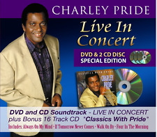 CHARLEY PRIDE LIVE IN CONCERT 2 CD / DVD - NEW RELEASE JUNE 2017