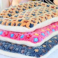 Pet Mat Stars Print Cat Dog Puppy Fleece Soft Warm Blanket Bed Cushion Mattress