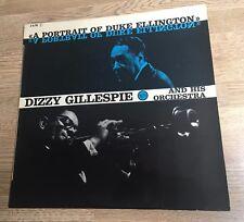 LP original France  A portrait of Duke Ellington Dizzy Gillespie 1963 EXC