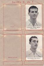 11 Cromos SEVILLA CLUB DE FUTBOL ( Album Fotos Deportivas FHER 1942 )