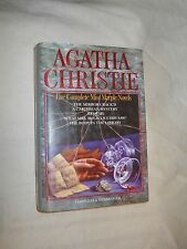 Five Complete Miss Marple Novels by Agatha Christie (1980, Hardcover)