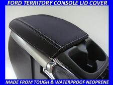 FORD TERRITORY NEOPRENE  CONSOLE LID COVER (WETSUIT MATERIAL) JUNE 2011 - 2016