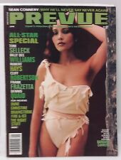 PREVUE Magazine #54 Dec/Jan 1984- Barbara Carrera/BD Williams/Frazetta/Quaid