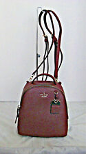 KATE SPADE  - Mini Caden Carter Backpack - Cherrywood