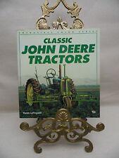 CLASSIC JOHN DEERE TRACTORS ISBN 0-87938-865-X