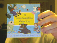 THE JULIA DONALDSON COLLECTION ON 10 CDS GREAT XMAS GIFT! FREE UK POST