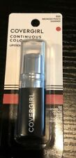 Cover Girl Continuous Color Bronzed Peach Shimmer 015 Lipstick New Sealed