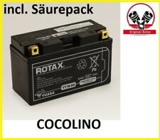 Rotax Batterie 12v-6, 5ah (Yuasa) Rotax Moteur avec flacon d'électrolyte RMA 265516