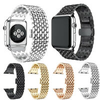 For Apple Watch iWatch Series 4 3 2 1 Stainless Steel Bracelet Strap Band Link