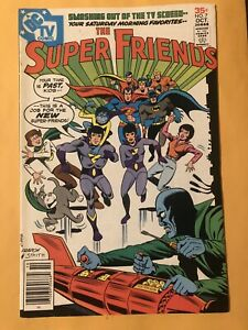 Super Friends #7 1st appearance of the Wonder Twins