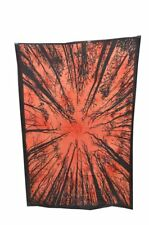 Indian Red LOCUST TREE TRADITIONAL Poster Wall Hanging Cotton Home Decor*