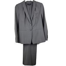 Ann Taylor Taupe Seasonless Wool Career Pant Suit Blazer Jacket 6P Pants Size 4