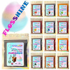 FLOSSHINE COLA BLUE EiF 12g mix,to make candy floss cotton sugar 26 variations