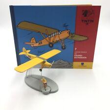 En Avion Tintin l'avion orange cigares des pharaons  N7 livret