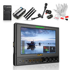"""Lilliput 662/S 7"""" IPS 1280*800 field monitor +Battery +Release Plate +Magic Arm"""
