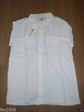 Camisas y tops de mujer de color principal blanco talla XL